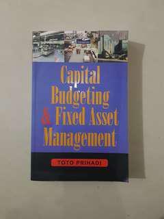 Capital Budgeting & Fixed Asset Management