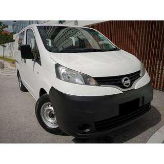 2014 Nissan NV200 VANETTE SEMI PANEL 1.6 (M)