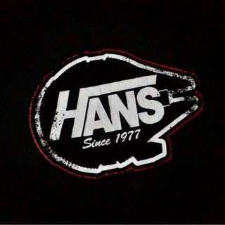 Star wars Han Solo x Vans shirt