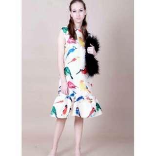 TLC bird dress