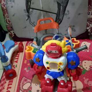 Sepeda family robot