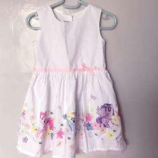 H&m x Hasbro My Little Pony dress