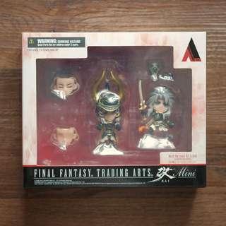 Final Fantasy Trading Arts Kai Mini Warrior Heroes of Light Toy Figures