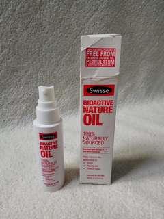 Swisse Skincare Bioactive Nature Oil 60ml  Minyak alami muka badan face body penghilang scratch scars aging