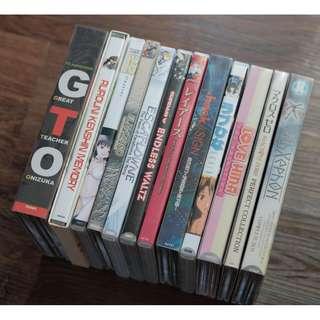 Anime Japanese Animation Series Movies DVD Sets Gundam GTO Macross