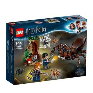 <DEREK> Lego Harry Potter Aragog's Lair 75950