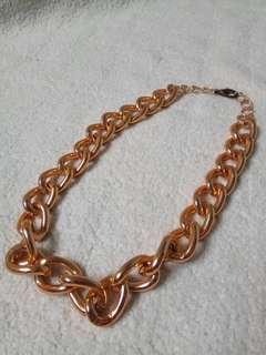 Kalung rantai emas gold big chain