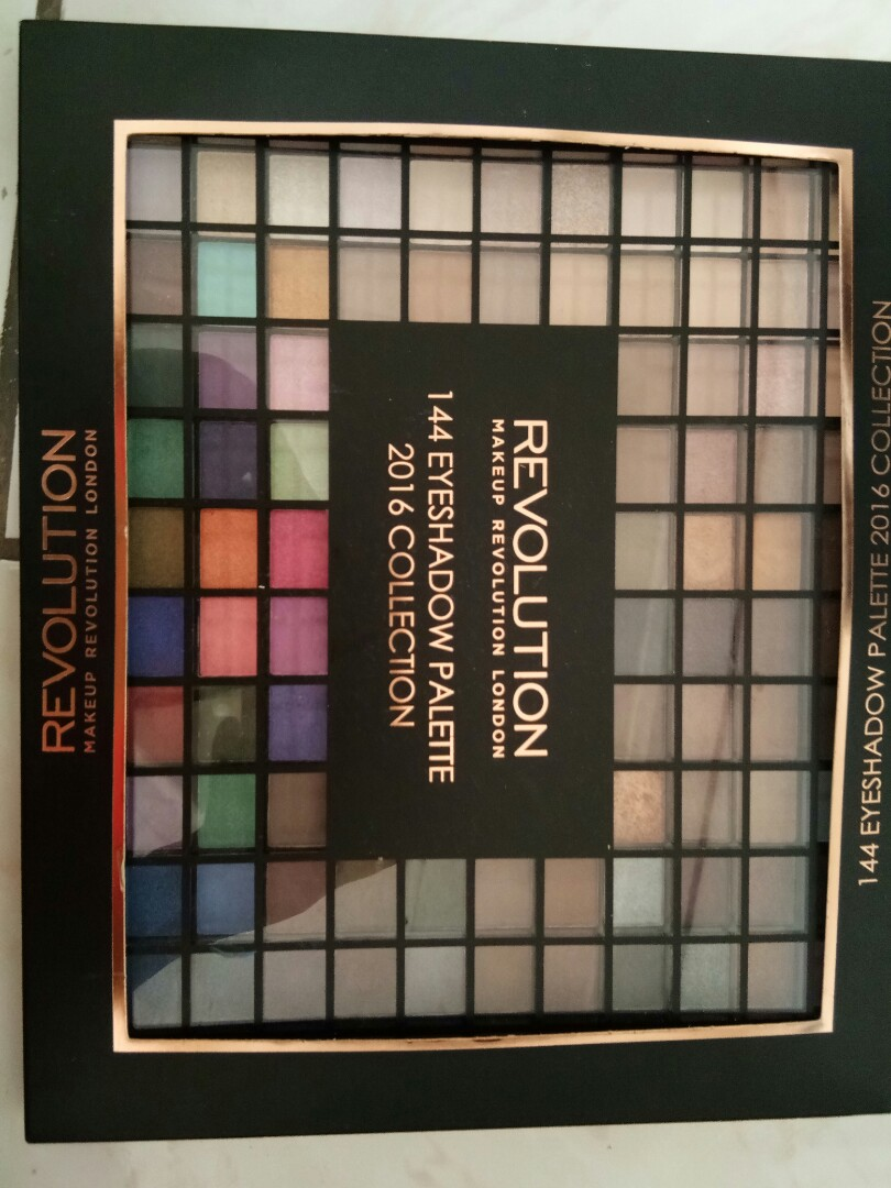 Source · 144 eyeshadow palette 2016 collection revolution Health & Beauty
