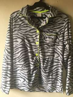 Sonoma Sleepwear Animal Print Top Only, Fits S-M
