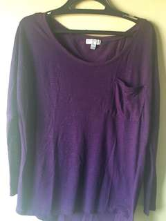 Cotton On Long Sleeves Loose Top, Fits M