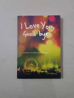 Novel I love You Good Bye