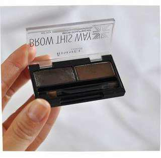 Rimmel Brow This Way (003 DARK BOWN)