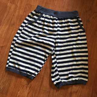🚚 條紋五分褲