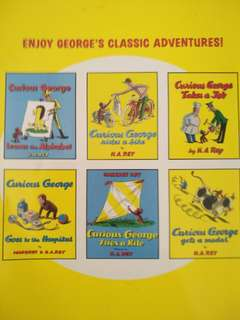 Looking for: preloved curious george classic adventures books