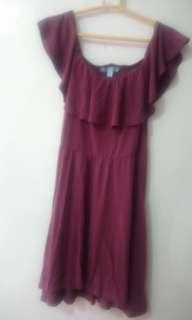 Dress offshoulder