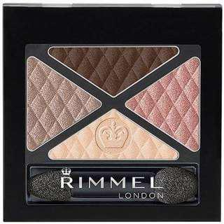 Rimmel Glam Eyes Quad Eyeshadow (031 MAYFAIR)