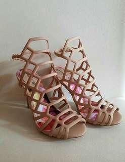 Steve madden authentic cage heels slithur