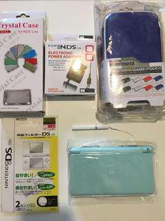 🚚 Nintendo DS Lite + Bag + Protector Screen + Protector Case + Charger + Stylus