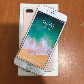 Iphone 7 Plus 128gb Rosegold Inter Ori Dijamin Bisa Tt