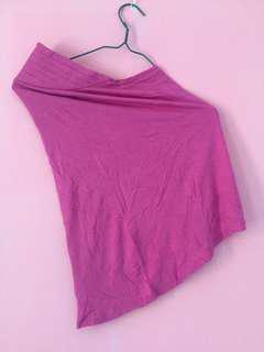 Kerudung blus pink