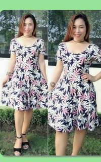 Mini Comfy Printed Dress Small to Large