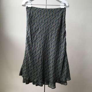Multi colored Printed Skirt