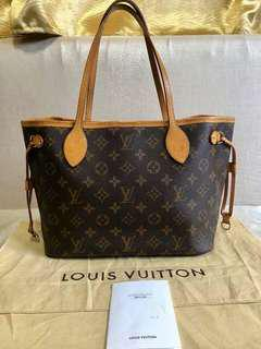 Authentic LV neverfull PM size