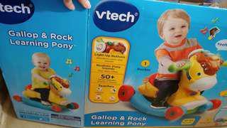 Vtech 2合1搖擺馬仔 (9成新, 有完裝盒)