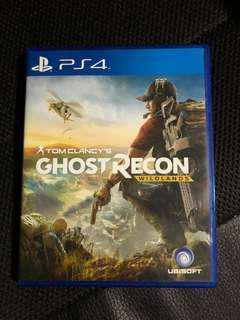 PS4 Tom Clancy Ghost Recon Wildlands