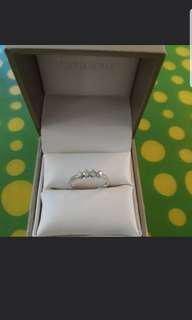 Citigems white gold ring