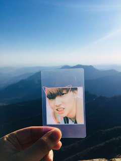 FREE GOT7 FANSUPPORT - JB JAEBUM TRANSPARENT CARD