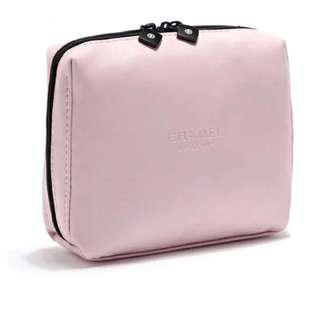 Chanel gift pink makeup pouch Ori💯%