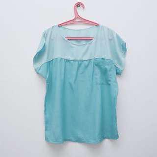 Tosca Blouse Two-Tone