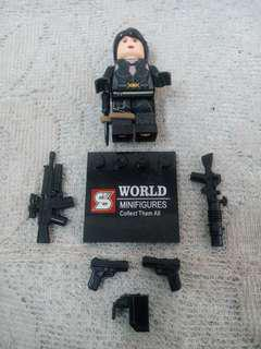 Expendables 2 Lego Compatible Minifigure