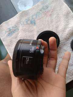 fix 50mm 1.8 canon lensa youngnuo