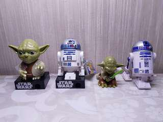 4 Star Wars Collectibles
