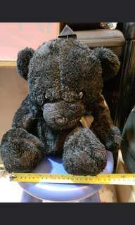 日本黑色毛毛熊仔背囊 black bear backpacks