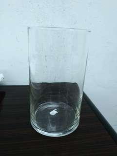 玻璃花瓶 15cm高