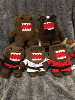 DOMO soft toy complete plushie collection