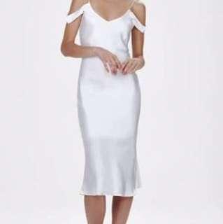 Hansel And Gretel White Silk Honeysuckle Dress