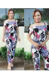 Jumpsuit Ladies Comfy Small to Semi XL