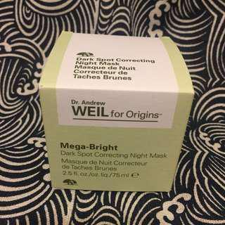 DR. ANDREW WEIL FOR ORIGINS 極亮明肌淡斑夜間面膜
