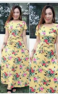 Aia Maxi Dress Floral Small to Large