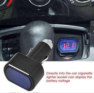 Auto Car Digital Volt Meter Voltage Meter Gauge LED Display Electric Meter