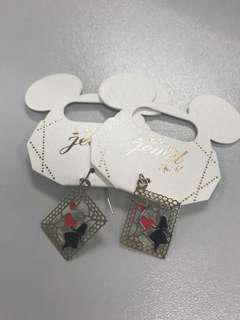 Japan Disneystore Alice 耳環 (日本迪士尼)購至日本