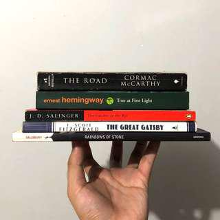Classics and Literary Books Bundle