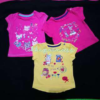 😍SALE: Mothercare Tees (3-6M)