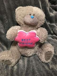 best friends bear soft toy