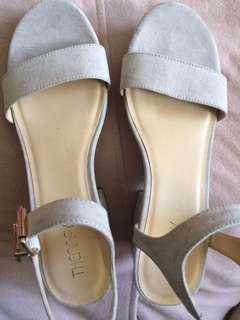Tan/Sandal Heels