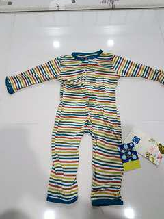 BNWT Kickee Pants Print Coverall 6-12 Months